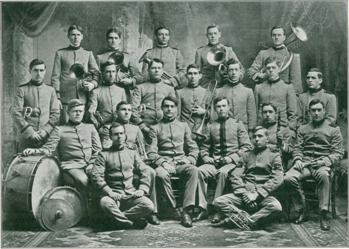 Photo of 1907 UNH Band