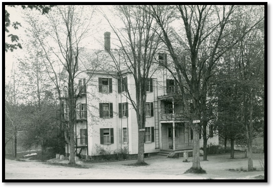 Ballard Hall – first home of the music department - 1917