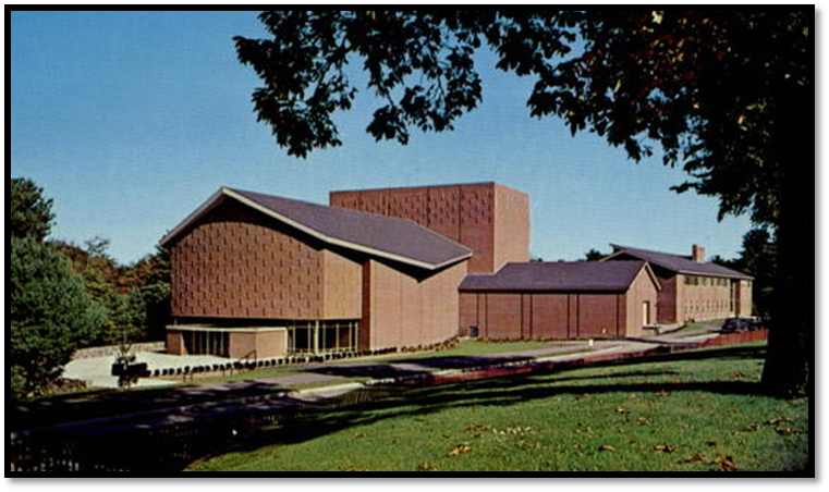 Paul Creative Arts building the summer it opened - 1960