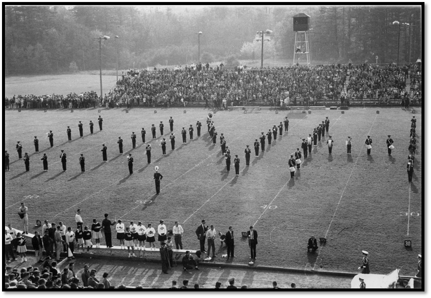 UNH Marching Band – 1958