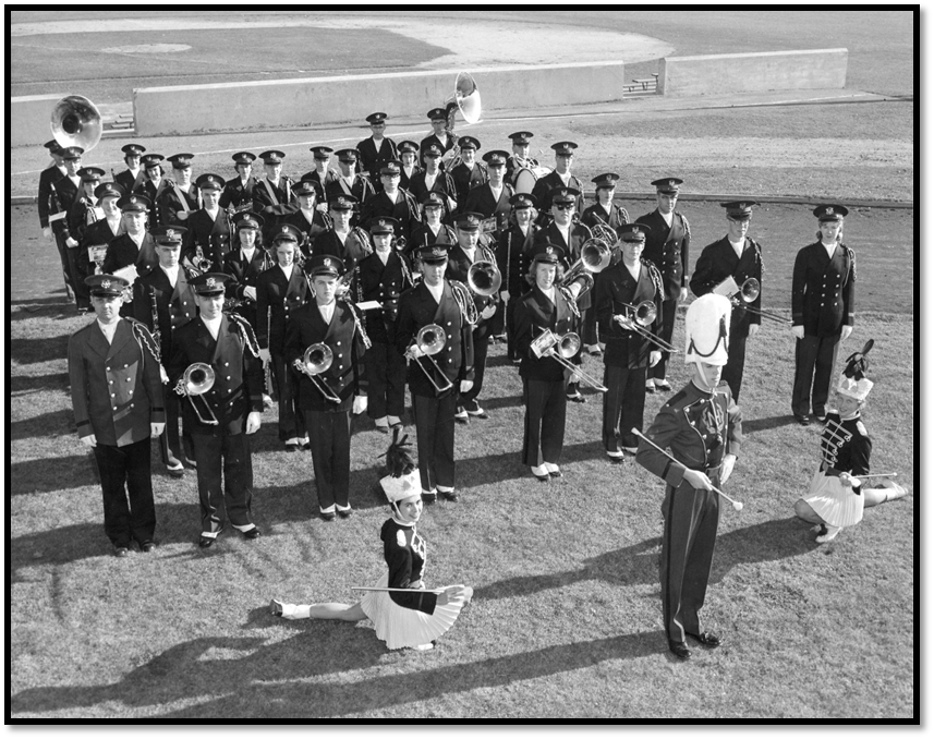 UNH Marching Band – 1961
